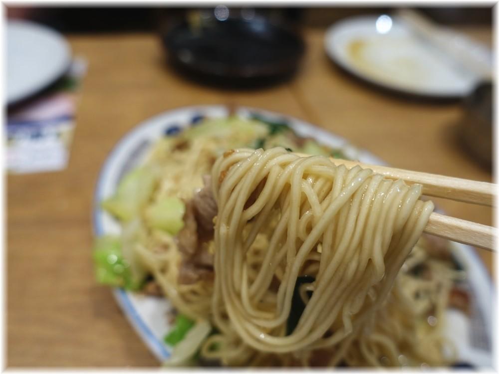 博多らーめん食堂由丸 焼きラーメンの麺