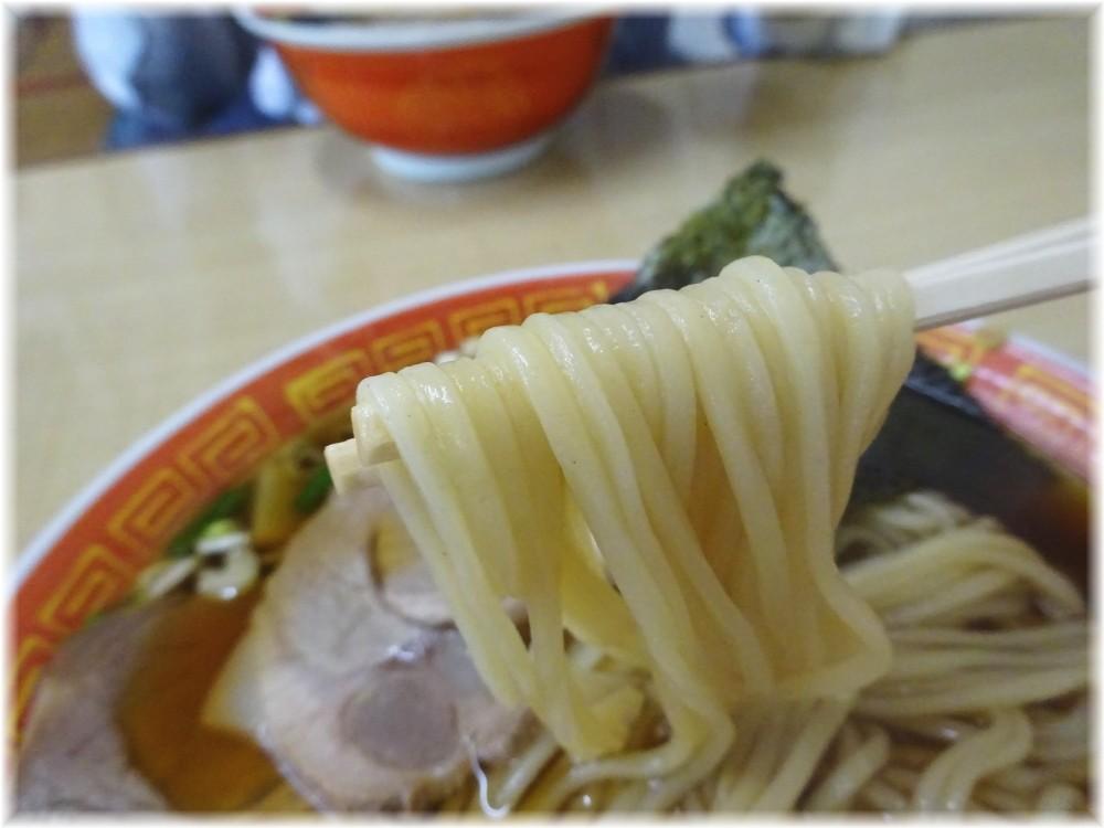 東中軒 中華そばの麺