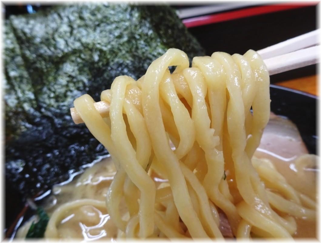 湘家 味玉ラーメン(醤油)の麺