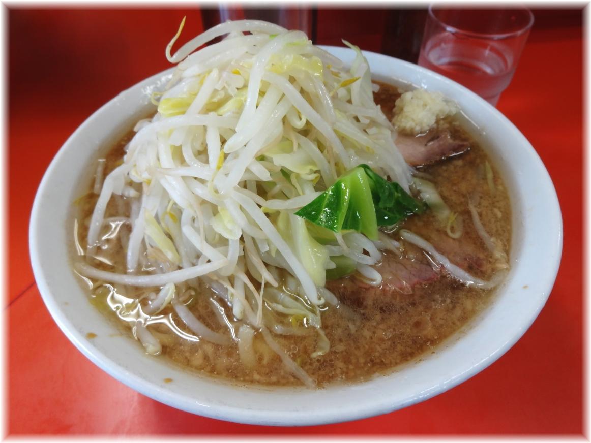 神保町二郎 ラーメン小(麺少なめ)