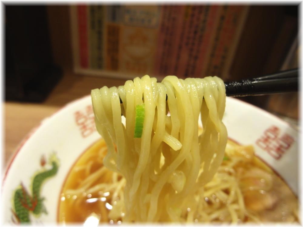 舎鈴 中華そばの麺