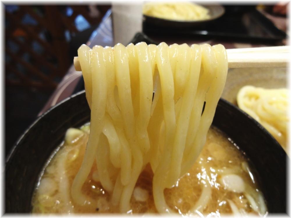 三ツ矢堂製麺大山店 月見納豆つけめんの麺2