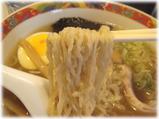 北○(北まる) 中華そばのチリチリ麺