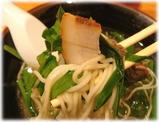 熊楠家 博多にらそばの麺2