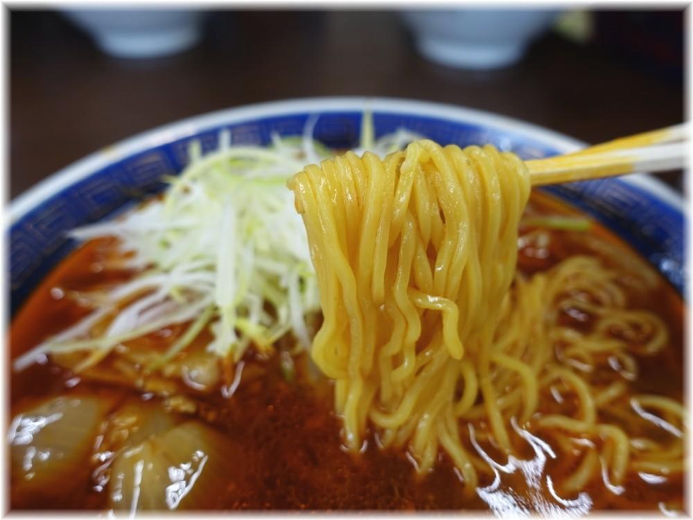 江ざわ 担々麺の麺