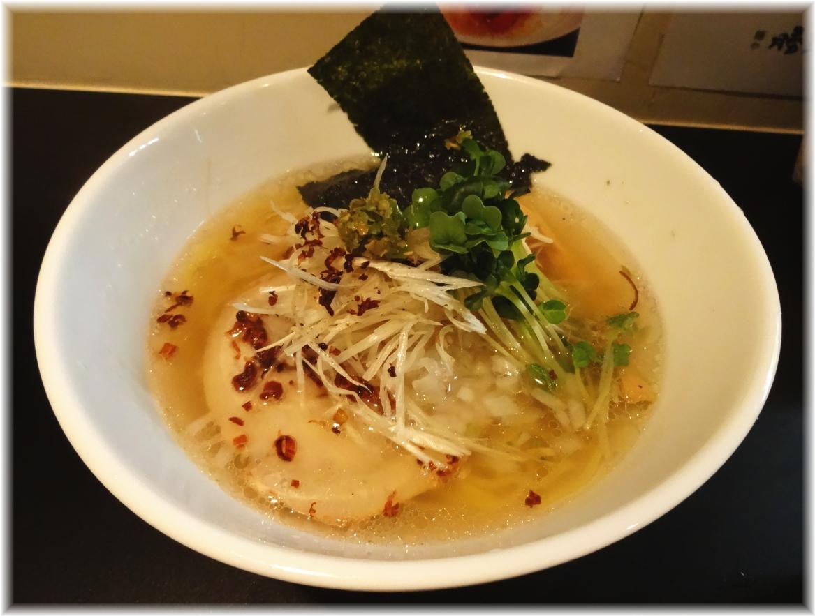 麺や勝治 青唐辛痛麺