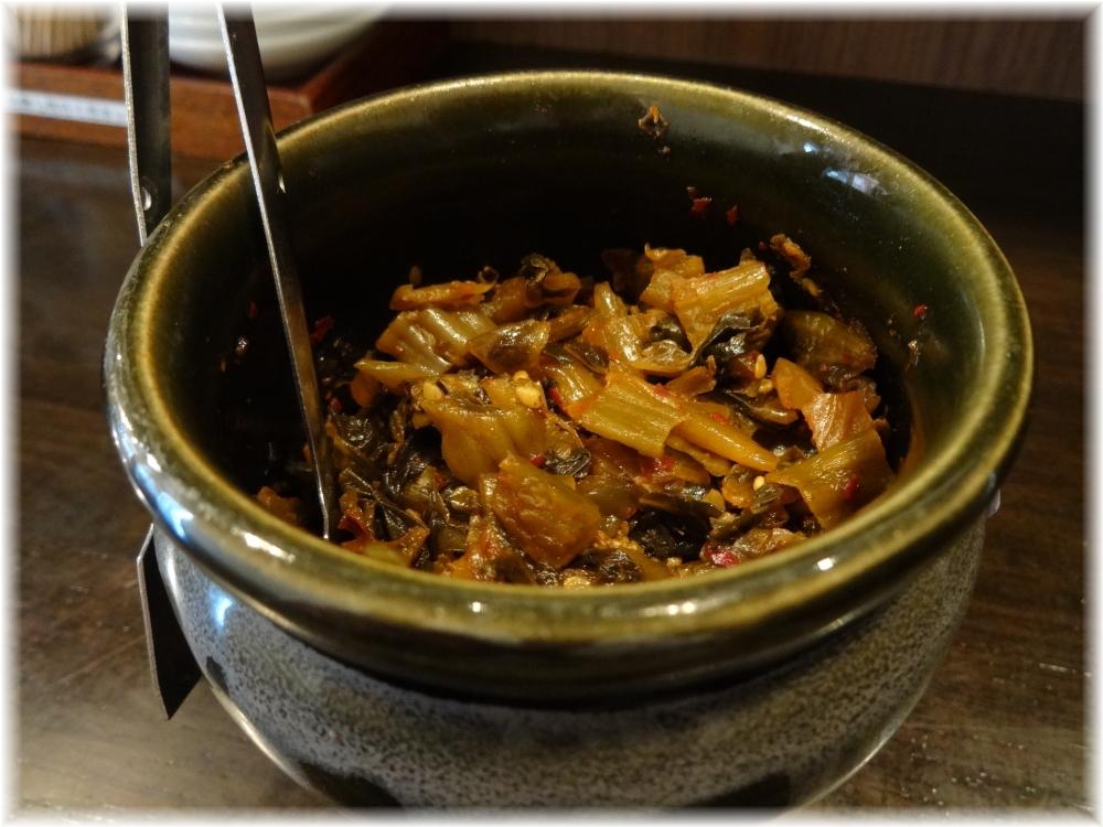 丸千製麺 辛子高菜