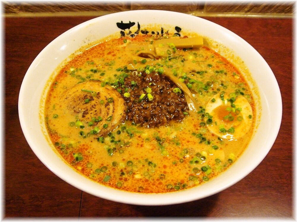担担麺花さんしょう 特製酸辣担担麺