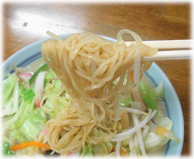 桃園 チャンポンの麺(戸畑蒸し麺)