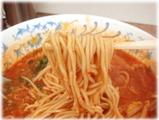 博多龍龍軒 激辛ラーメンの麺
