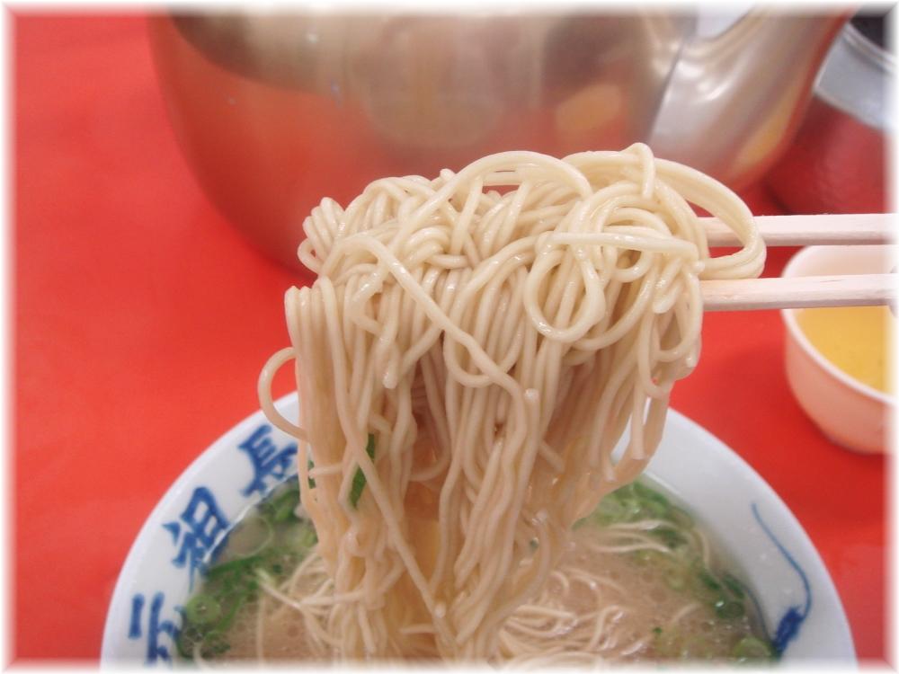 元祖長浜屋4 ラーメンの麺