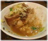 麺処 遊 肉飯のスープ茶漬け