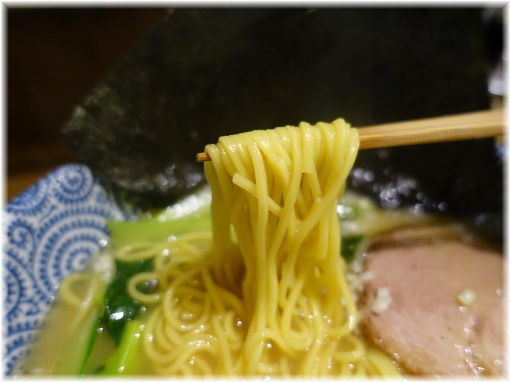 麺屋なごみ 塩白湯麺の麺