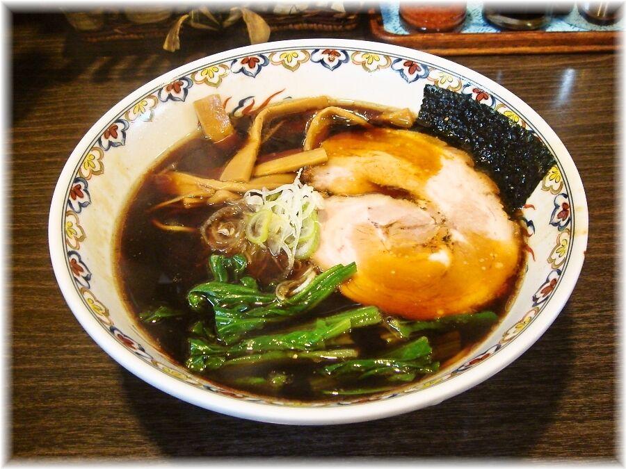 松虎亭 盛岡醤油老麺