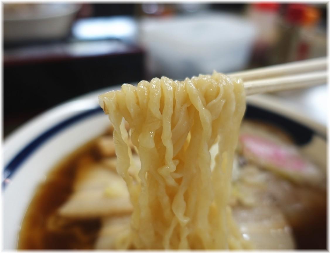 森清 チャーシューメンの麺