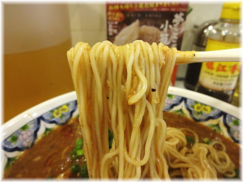 揚州商人目黒本店2 プレミアムスーラータンメンの麺