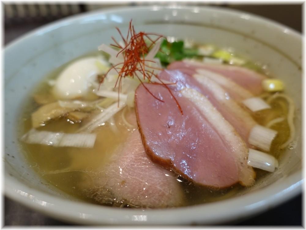 麺屋葵 鴨出汁・白(特製トッピング)の具