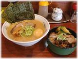 田じまや ラーメンとミニチャーシュー丼のセット