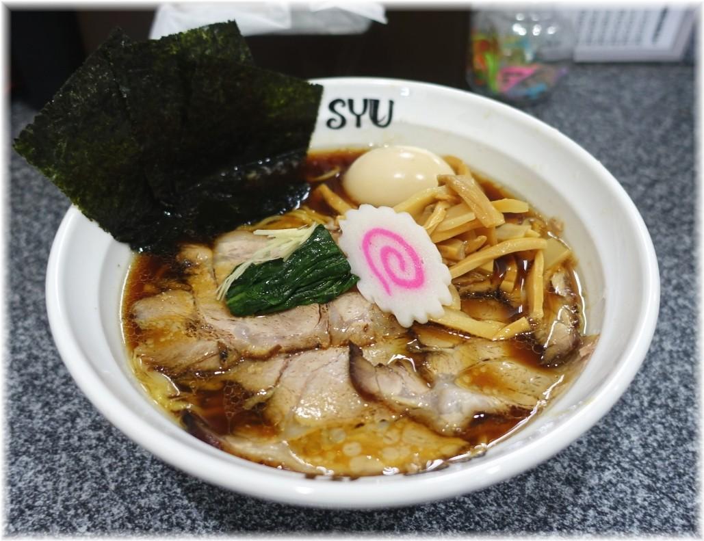 Noodle Studio SYU 周 醤油らーめん全部乗せ