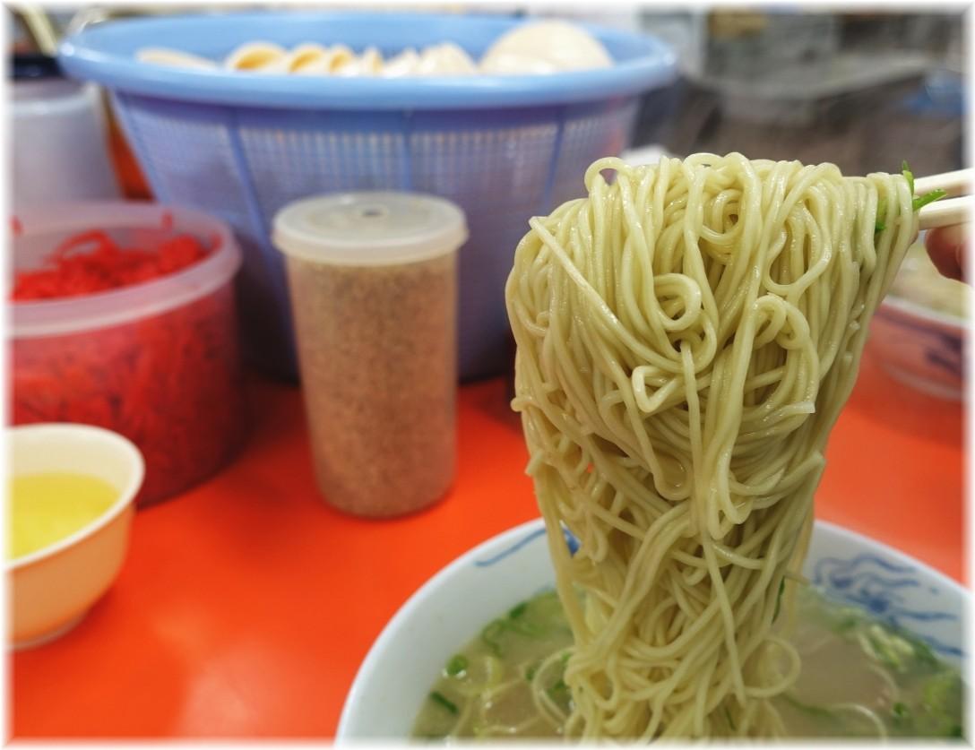 元祖長浜屋6 ラーメン(無し)の麺