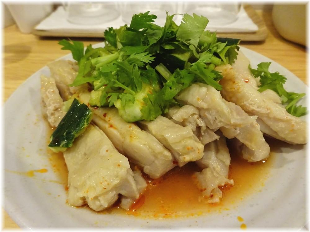 大喜6 パクチー蒸し鶏
