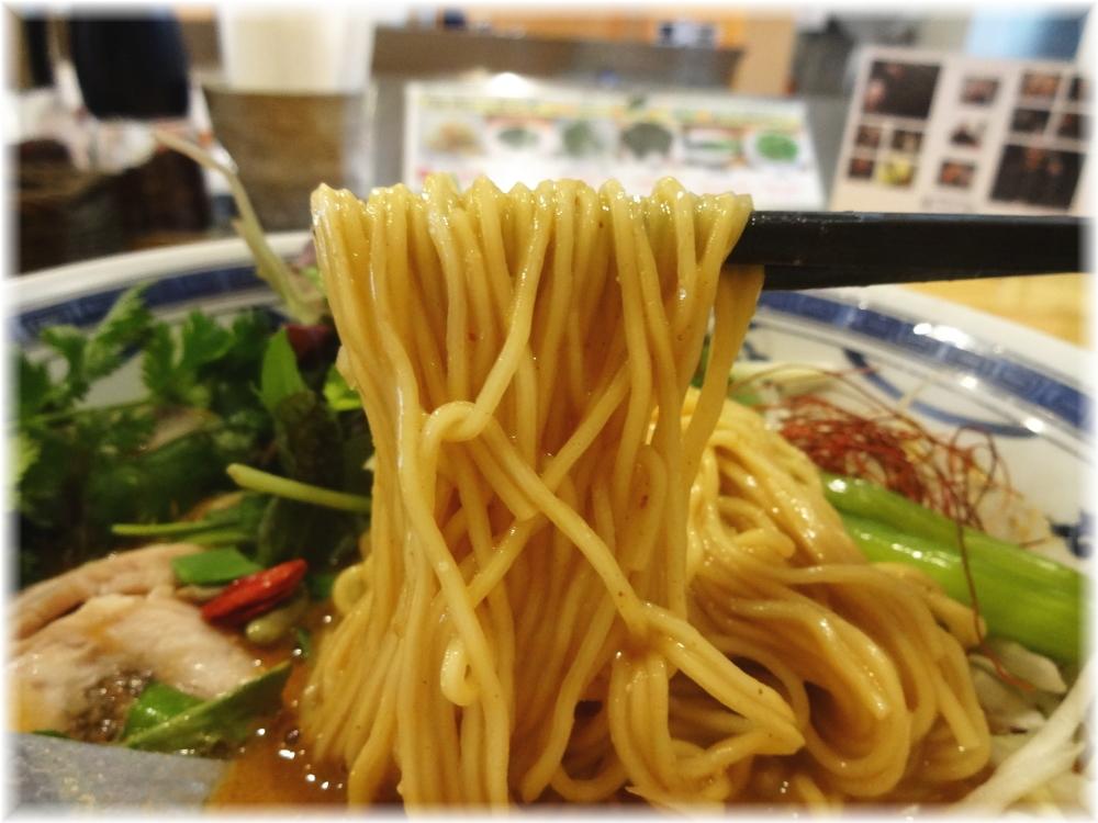 瀬佐味亭 金の担担麺の麺