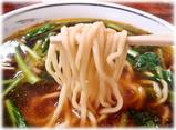 李園 牛肉煮込み入り醤油の麺