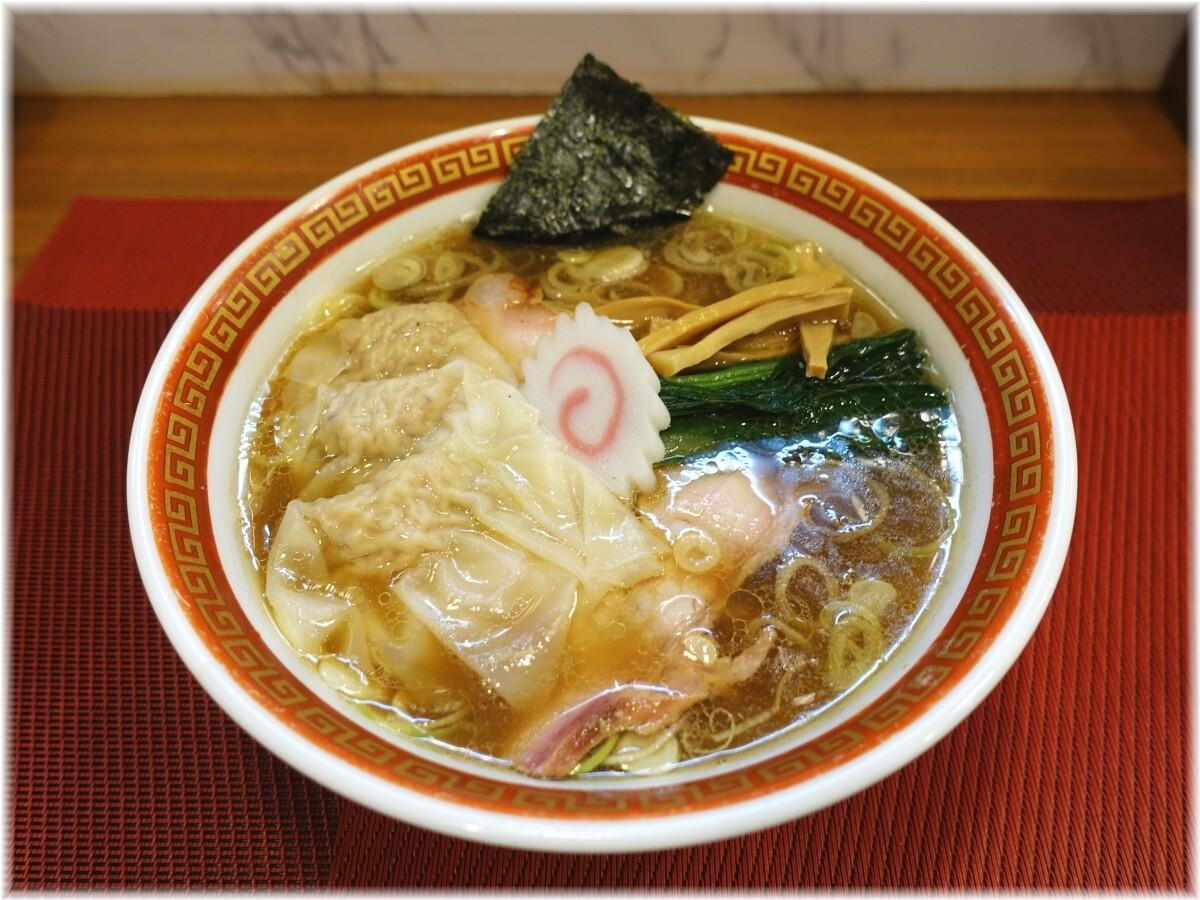麺創庵砂田 ワンタン麺