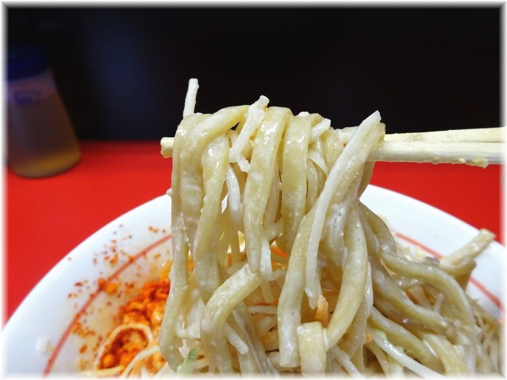 千里眼 冷やし中華の麺