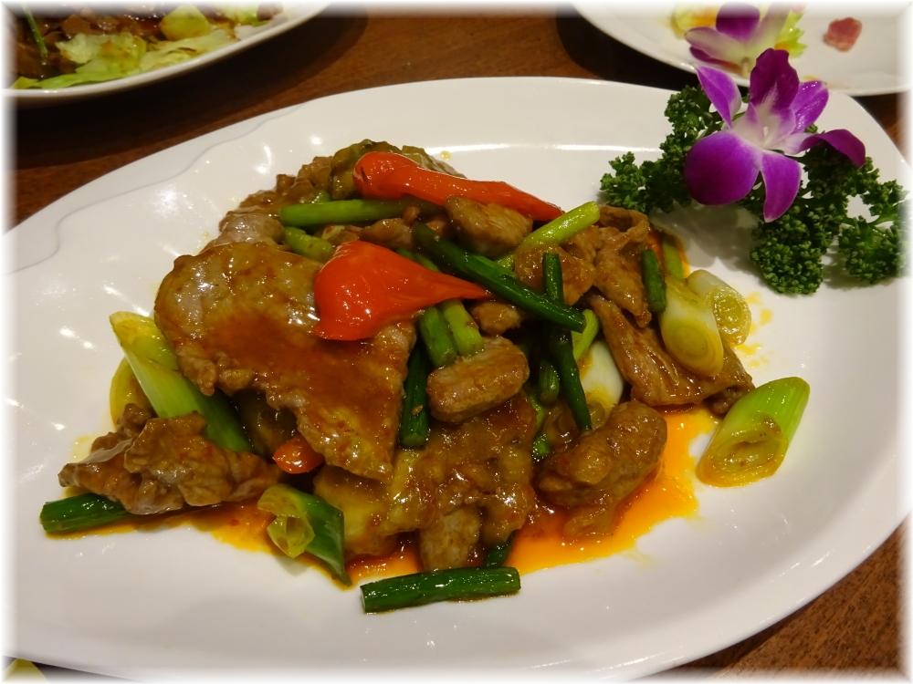 阿里山 牛肉のスタミナ炒め