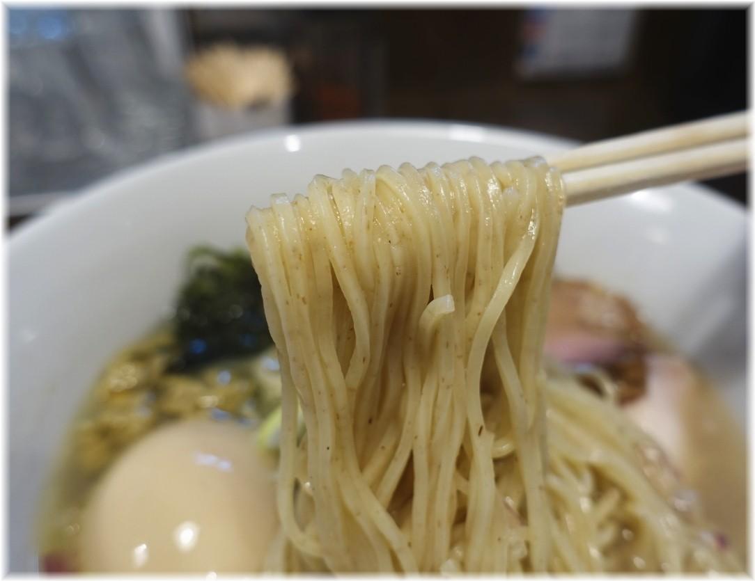 貝節麺raik 特製貝節潮そばの麺
