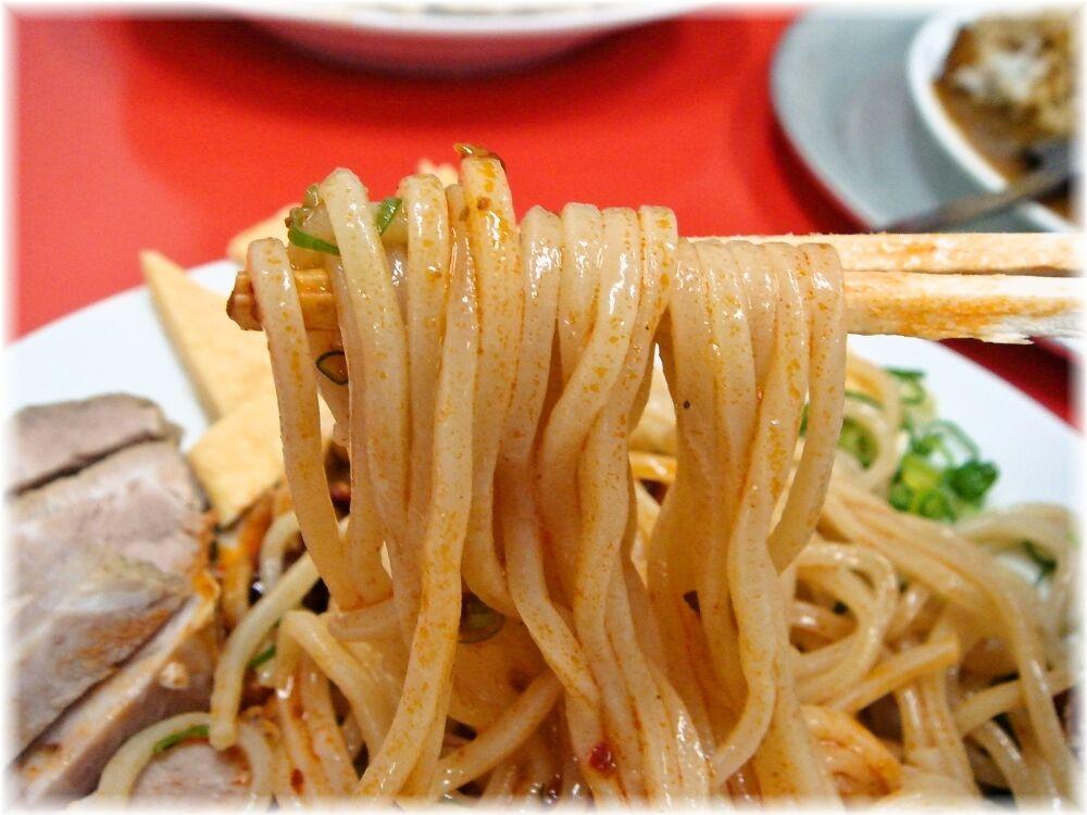 ふくもり 煮干し冷やし中華の麺