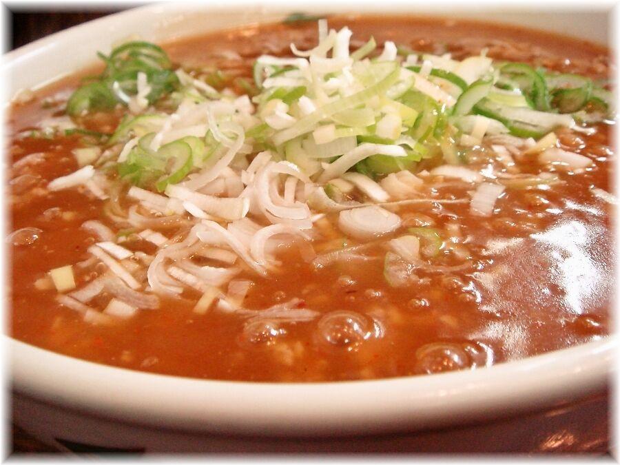 北京 タンタンメンのスープ