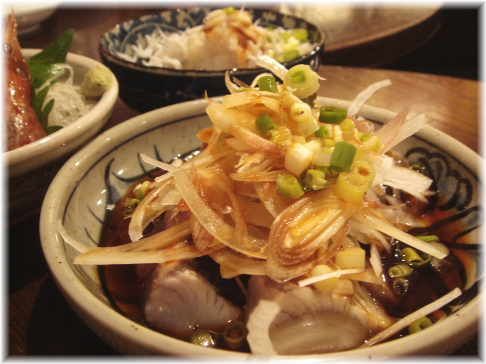金町製麺 サワラのタタキ