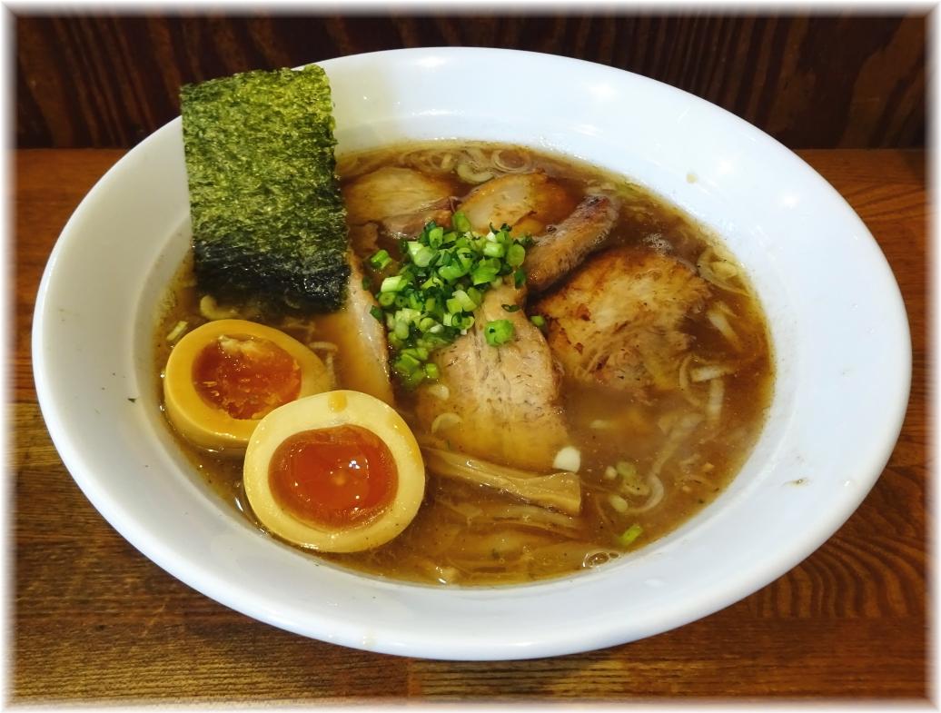 麺や八雲 醤油バラ肉チャーシュー+味玉