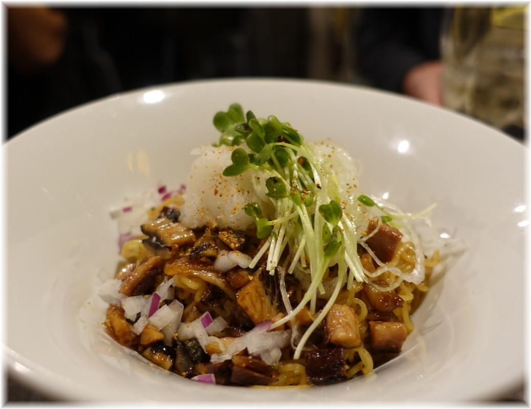 金町製麺9 秋刀魚のまぜそば