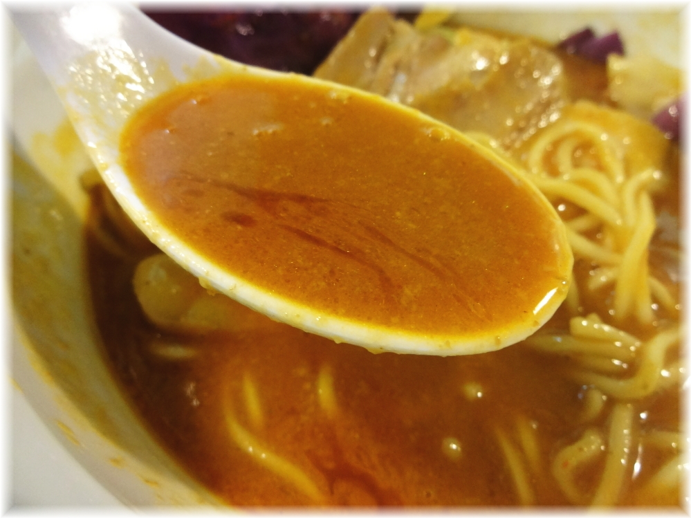 らーめん五ノ神製作所 海老リッチらーめんのスープ2