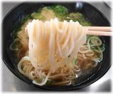 駅そば 天ぷら駅そばの麺