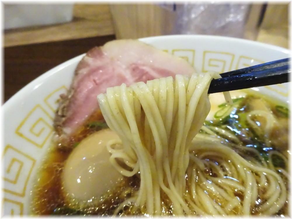 中村麺三郎商店 特製醤油らぁ麺の麺