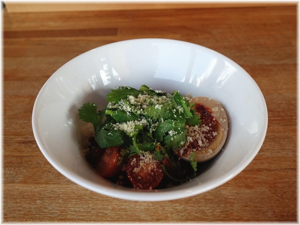 湖麺屋ReelCafe アジアン肉味噌ご飯