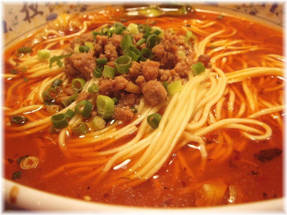 大明担担麺 箱崎店 担担麺のスープ