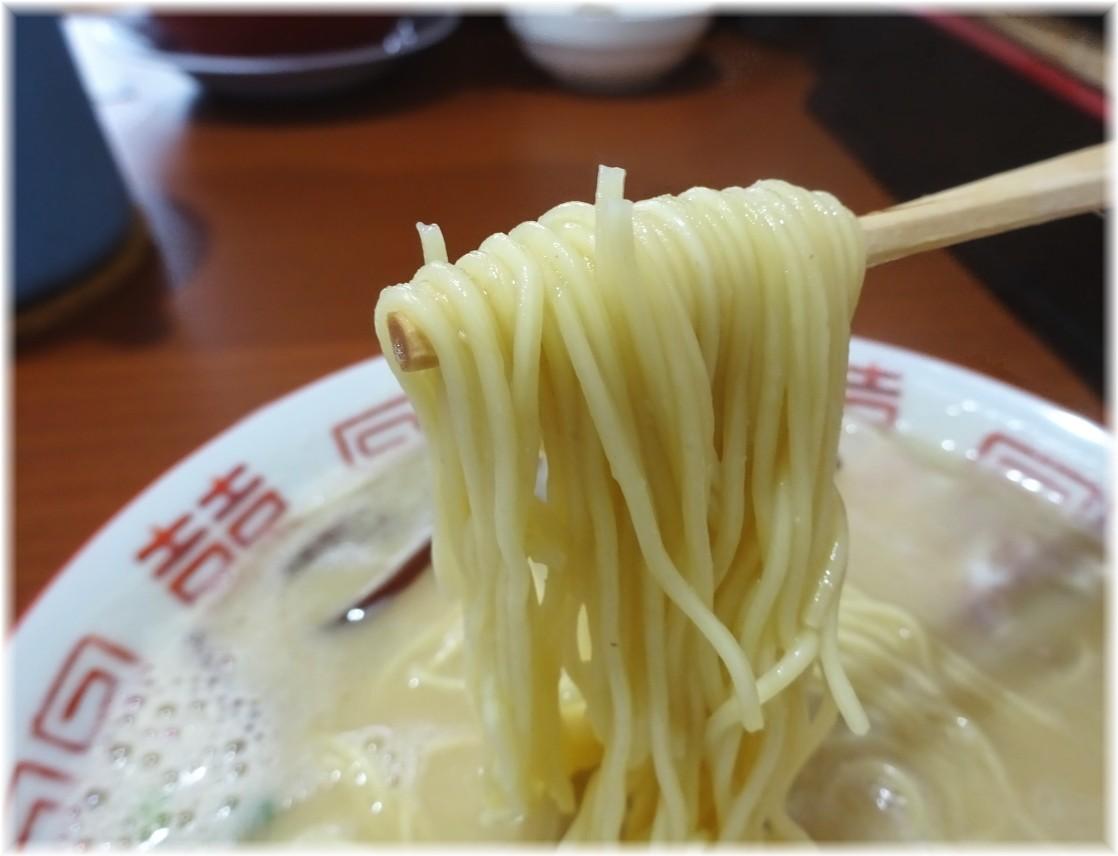 博多元気一番 ラーメンの麺