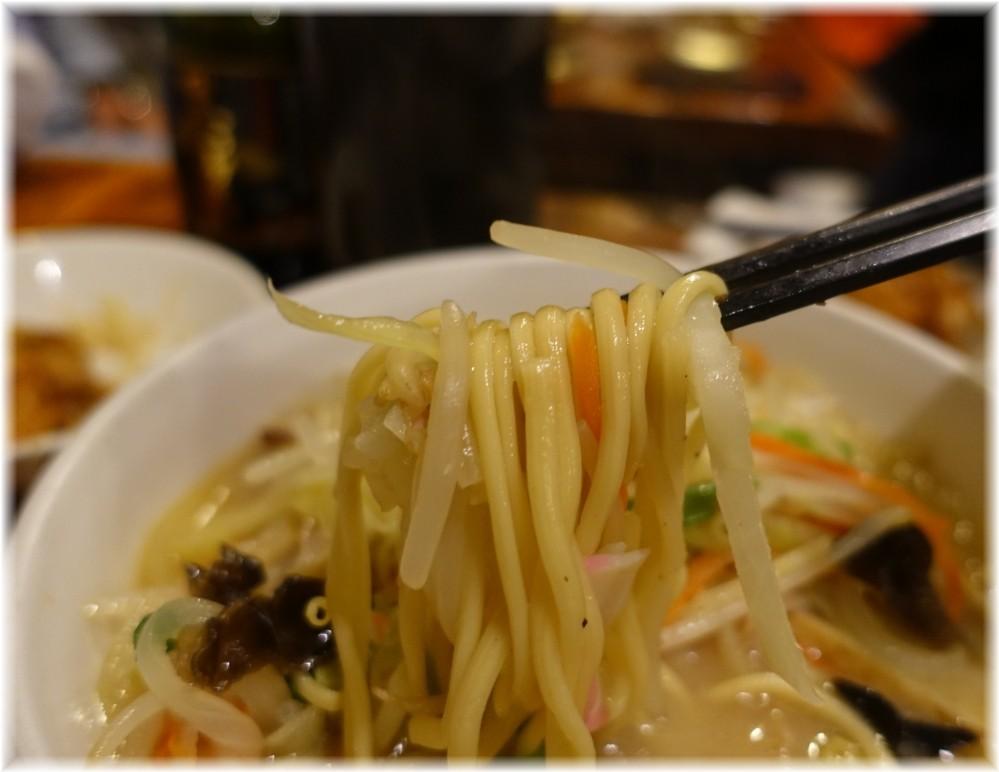 どんく チャンポンの麺