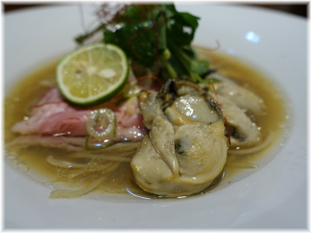 寿製麺よしかわ川越店4 カキそばの具