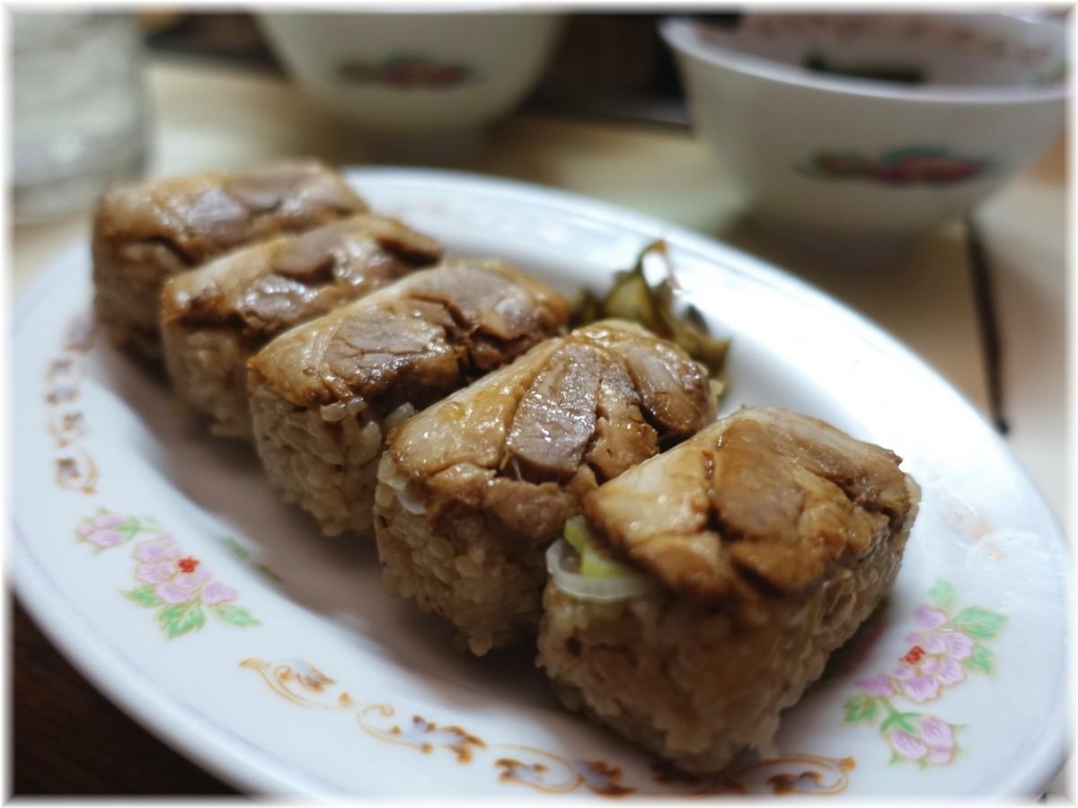 東京ラーメンマリオン 焼豚にぎり