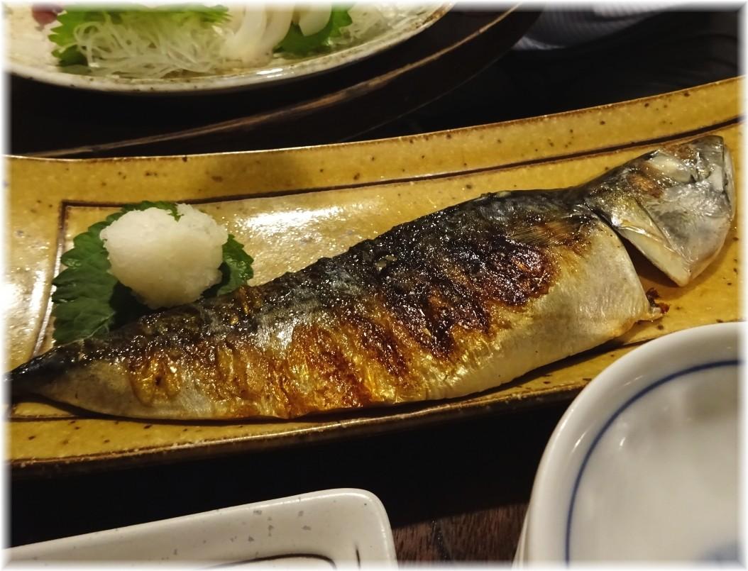 金町製麺7 金華サバ焼き