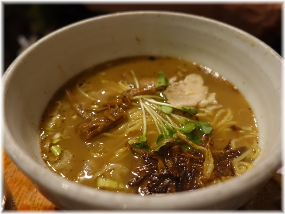 メン屋ちっきん ちっきん麺(醤油)