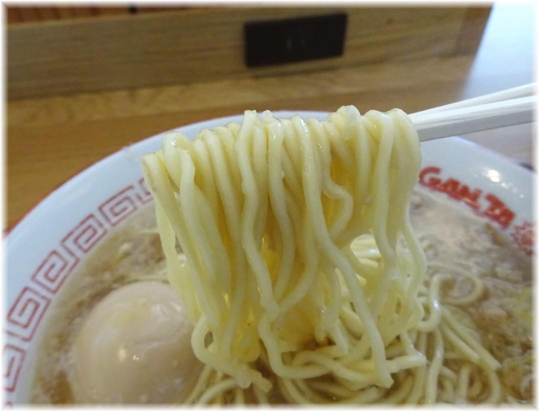 GANJARAMEN 味玉ラーメンの麺