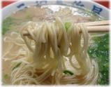 元祖長浜屋 ラーメンの麺