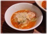 芳園 福建海鮮炒飯に四川ラーメンのスープかけ